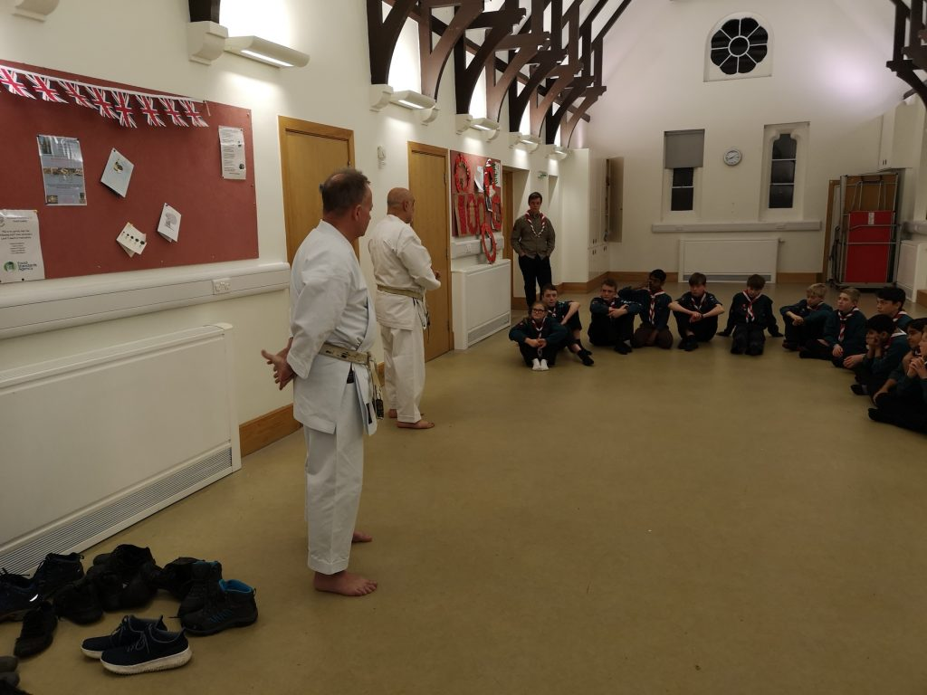 Scouts Martial Arts Evening
